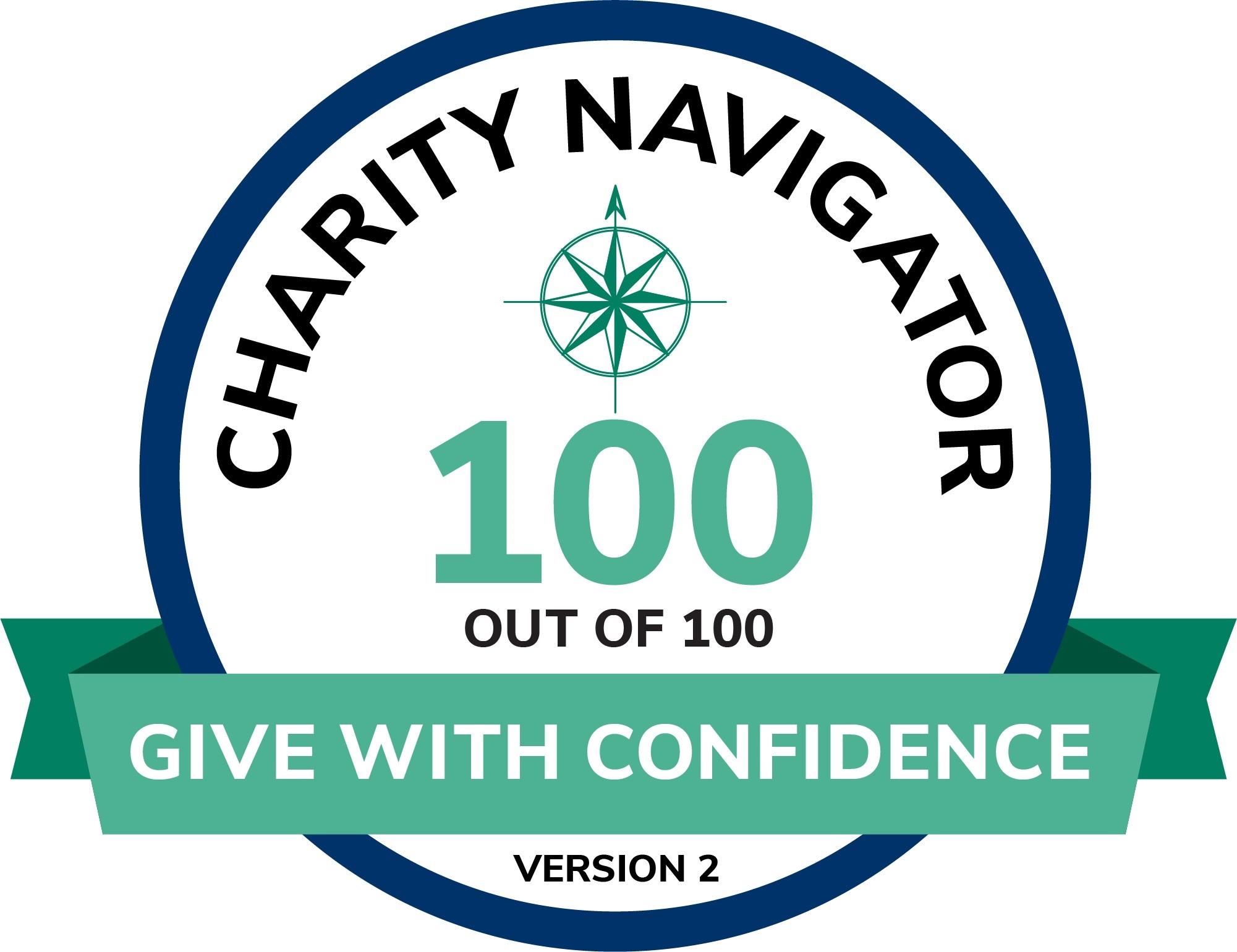 Charity Navigator logo 2021