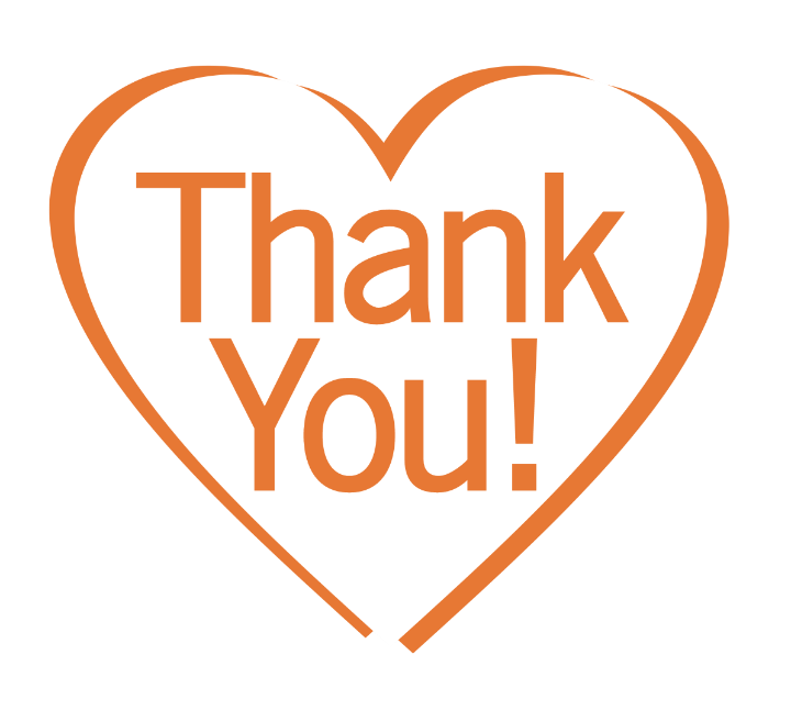 COVID thank you heart
