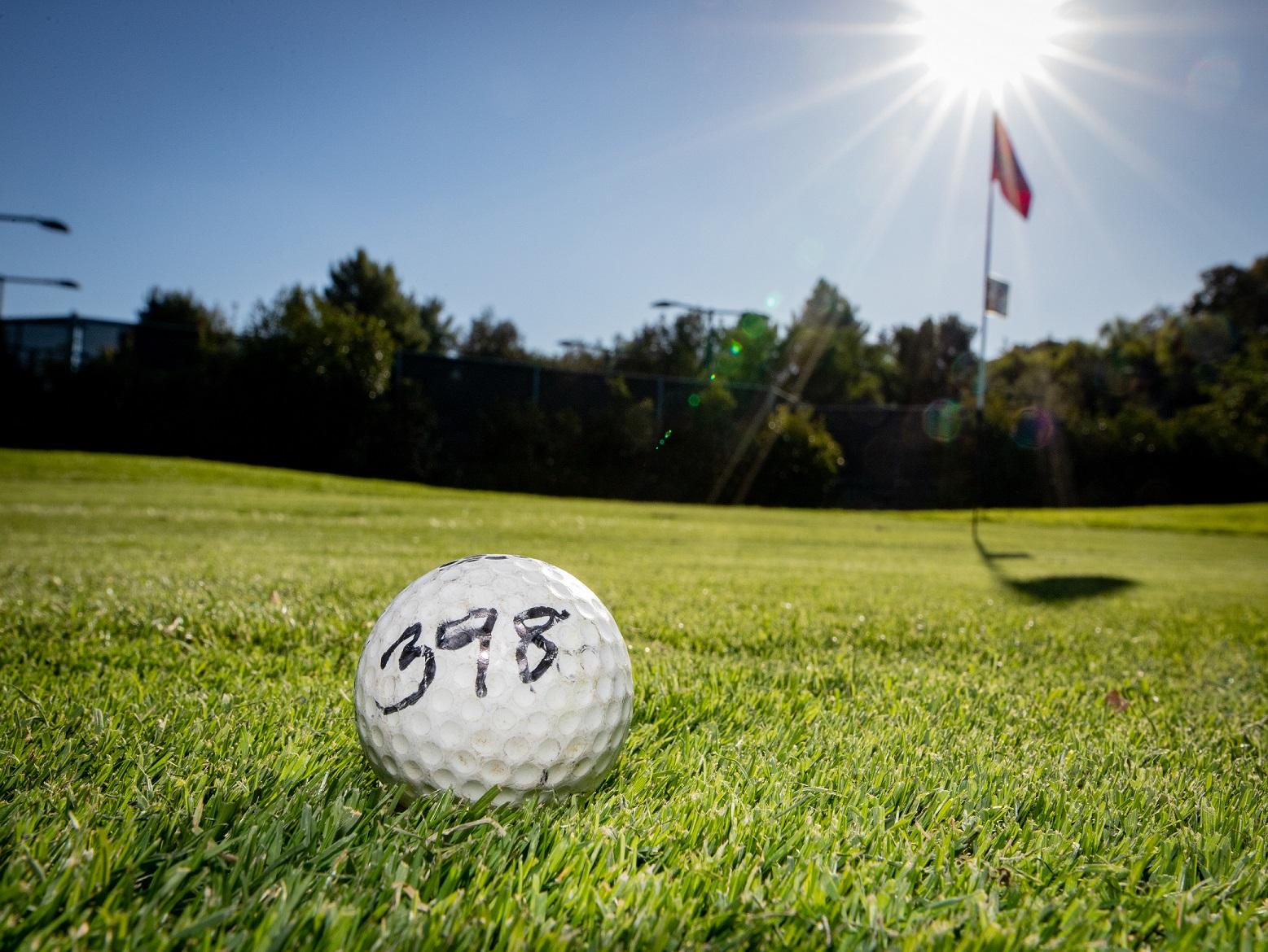 Golf 2020 ball winner